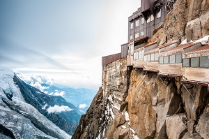 The death defying view in Chamonix France